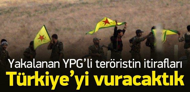 Yakalanan YPG'liden Kobani itirafları