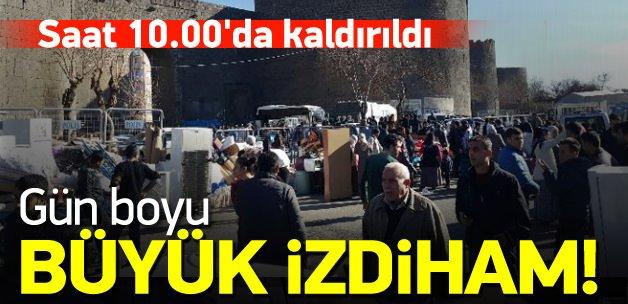 Yasak kalktı! 'Göç' izdihamı başladı
