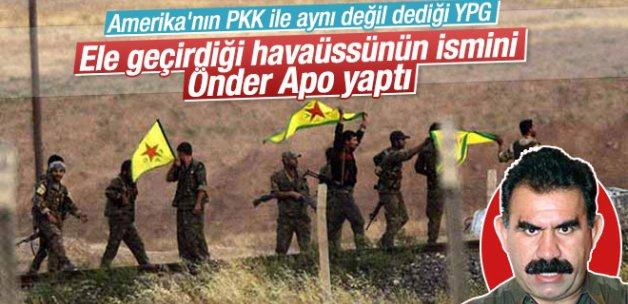 YPG ele geçirdiği havaalanına Öcalan'ın ismini verdi !