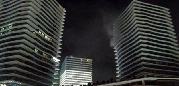 Zorlu Center'da yangın çıktı