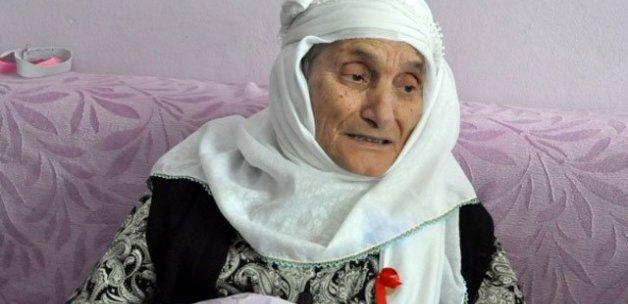 118 yaşındaki Miyase ninenin 90 torunu var
