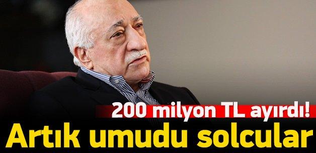 200 milyon TL ayırdı! Tüm umudu solcular
