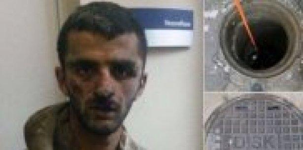 2 gündür rögarda saklanan teröristler yakalandı