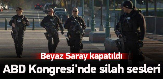 ABD Kongresi'nde silah sesleri!