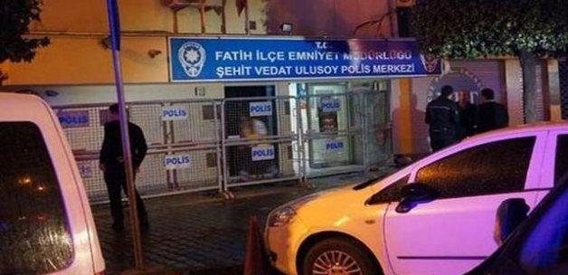 Aksaray'da polis merkezinde kavga