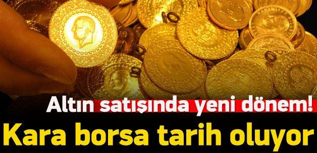 Altın satışında yeni dönem!