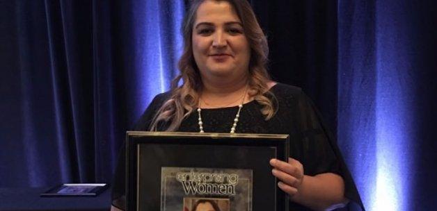 Amerika'da Türk Kadınına büyük ödül!
