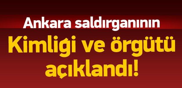 Ankara saldırganının kimliği açıklandı
