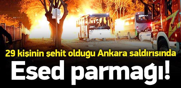 Ankara saldırısında Esed parmağı!