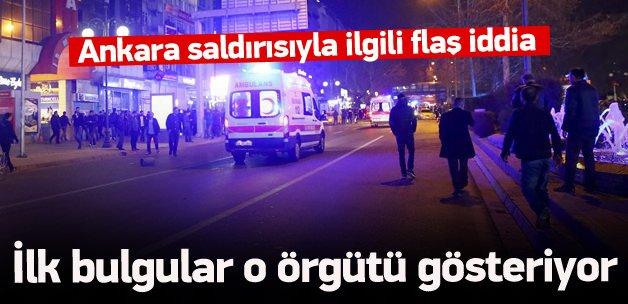 Ankara saldırısıyla ilgili flaş iddia
