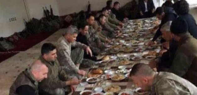 Asker ve polislere yemek veren aşiretten açıklama