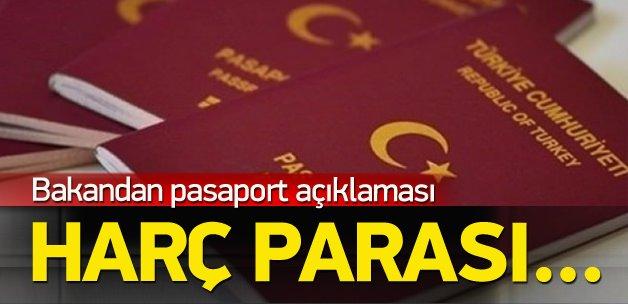 Bakan Bozkır'dan pasaport açıklaması