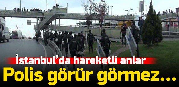 Bakırköy'de 'Nevruz' kovalamacası!