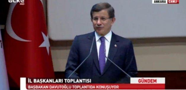 Başbakan Davutoğlu konuşuyor - Canlı