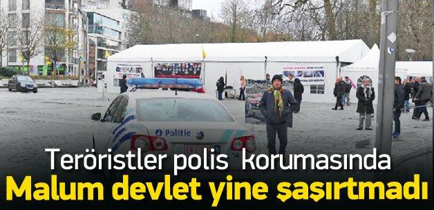 Belçika PKK'ya kol kanat gerdi