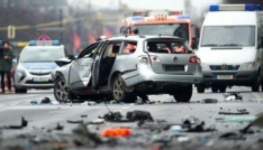 Berlin'de patlayan aracın şoförü Türk çıktı