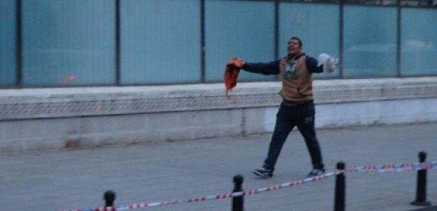 Beşiktaş'ta polisi alarma geçirdi!