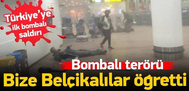 Bombalı terörü bize Belçikalılar öğretti!