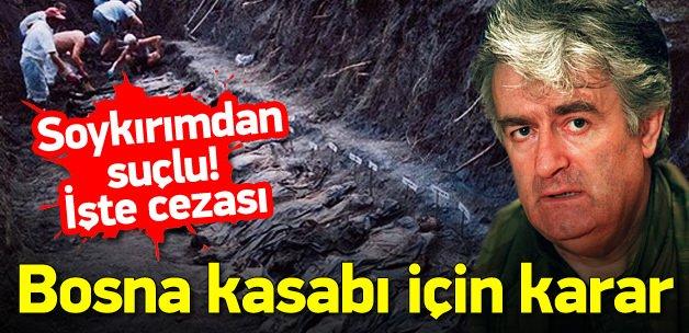 Bosna Kasabı suçlu bulundu