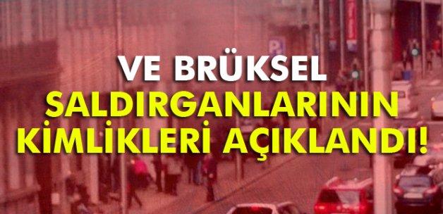 Brüksel saldırganlarının kimlikleri açıklandı!