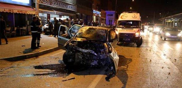 Bursa'da trafik kazası, 1 ölü, 3 yaralı