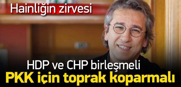 Can Dündar PKK için toprak istedi!