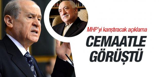 Cemaat Bahçeli'yle mi görüştü MHP'yi karıştıracak iddia