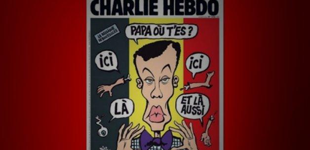 Charlie Hebdo'dan Brüksel skandalı