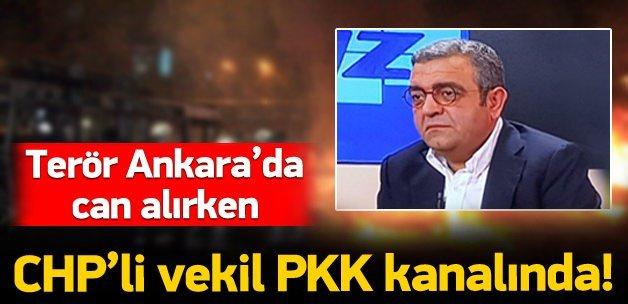 CHP'li vekil PKK medyasında!