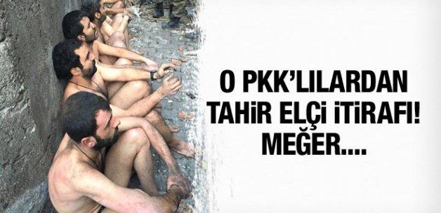 Çırılçıplak teslim olan PKK'lılardan Tahir Elçi itirafı!