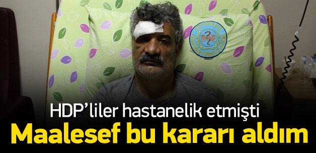 Çiyager: Diyarbakır'ı terk ediyorum