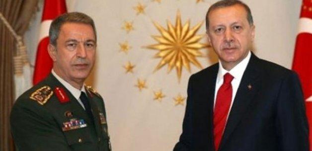Cumhurbaşkanı Erdoğan ve Akar'dan 18 Mart mesajı