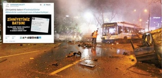 Cumhuriyet'ten Ankara provokasyonu