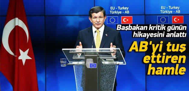 Davutoğlu'ndan Brüksel'de kritik hamle