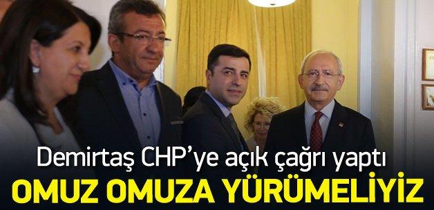 Demirtaş: CHP'yle omuz omuza yürümeliyiz