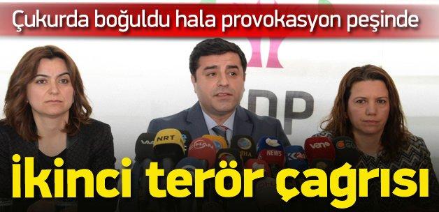 Demirtaş'tan ikinci Sur provokasyonu !