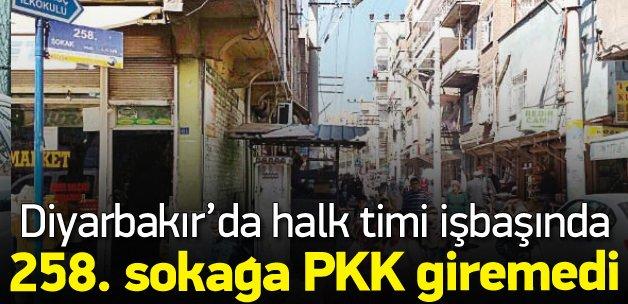 Diyarbakır Bağlar'da halk timi iş başında!