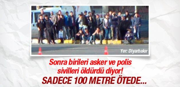 Diyarbakır'daki kalabalık bakın ne izliyor?