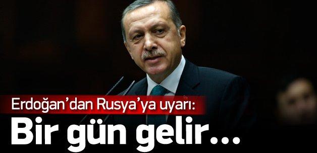 Erdoğan'dan Rusya'ya PYD uyarısı