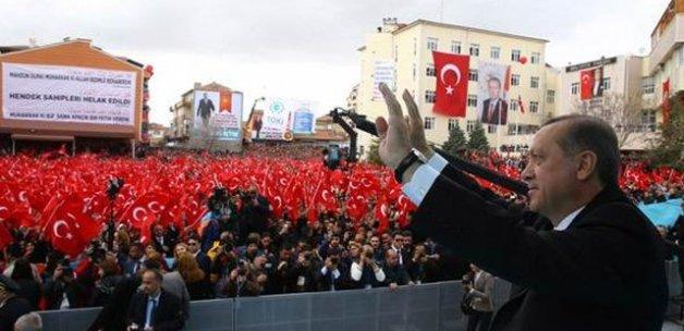 Erdoğan'ın dikkatini çeken pankart