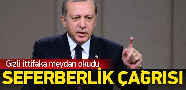 Erdoğan: Korkuyu korkutanlardan olacağız
