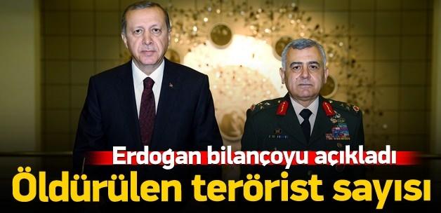 Flaş Açıklama: 5 bin 359 terörist öldürüldü