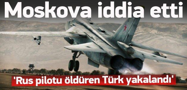 Flaş iddia: Rus pilotu öldüren Türk yakalandı