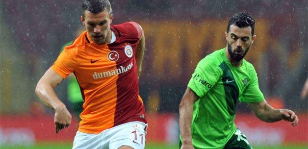 Galatasaray 1 Akhisar Belediyespor 1