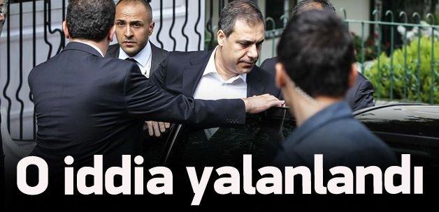 Hakan Fidan iddiası yalanlandı