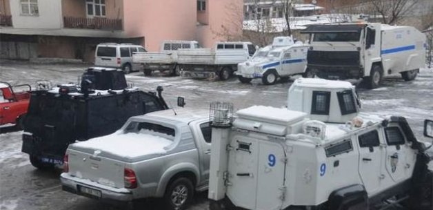 Hakkari'de nevruz nedeniyle yoğun güvenlik önlemi