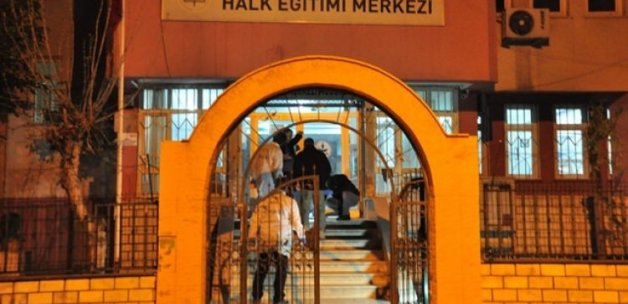 Halk Eğitim Merkezi'ne bombalı saldırı