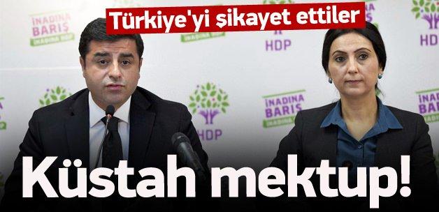 HDP'den BM ve AP'ye Sur mektubu