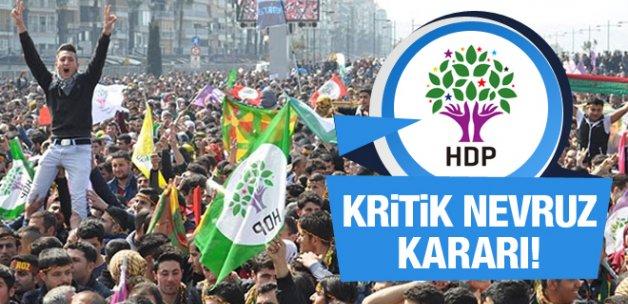 HDP'den Nevruz yasakları için flaş karar!
