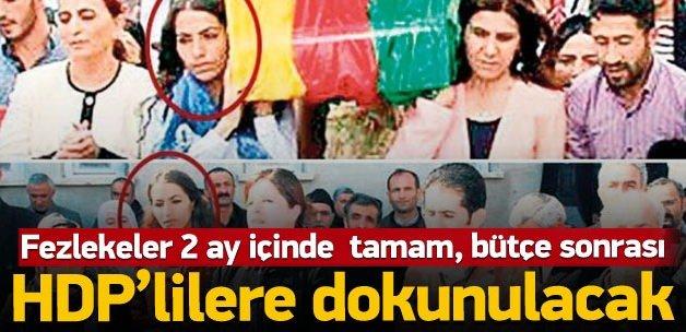"""""""HDP'lilerin fezlekeleri Meclis'e gönderildi"""""""